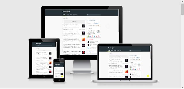 Materispot Material Template Blogger Fast Loading
