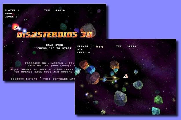 Disasteroids 3D - Δωρεάν Video Game στο οποίο είσαι αντιμέτωπος με αστεροειδείς