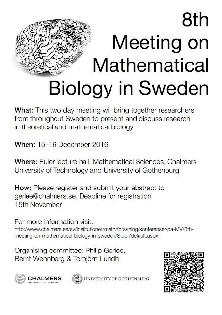 8th Swedish Meeting for Mathematical Biology