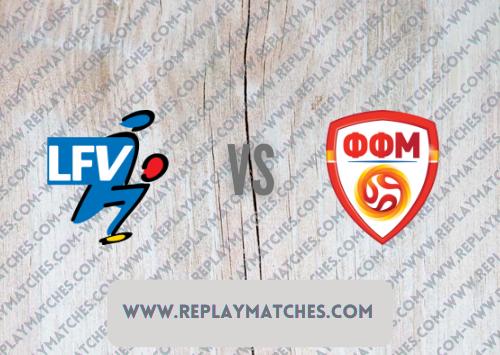 Liechtenstein vs North Macedonia Highlights 08 October 2021