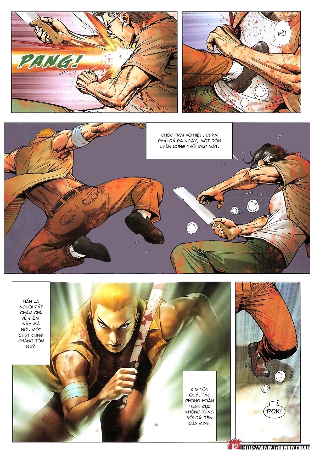 Người Trong Giang Hồ chapter 1840: đại phi ác chiến kim tôn quý trang 10