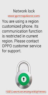 Oppo Network Unlock  [Method 3] with Master Code 2019 updated.