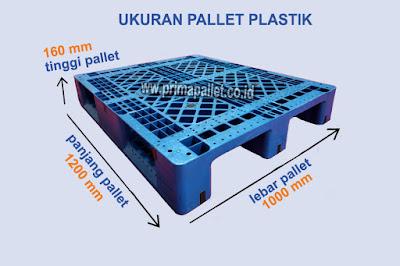 Ukuran Pallet Plastik Bekas