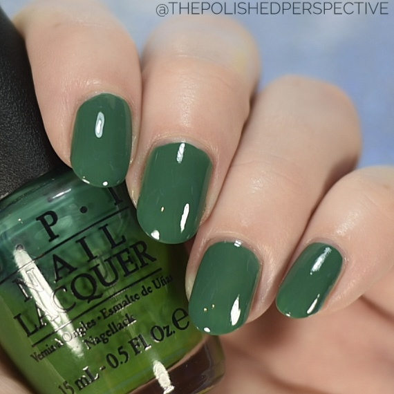 opi jade is the new black swatch
