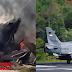 Pesawat Tempur Hawk 0209 Milik TNI-Au Jatuh di Kampar, Permukiman Penduduk