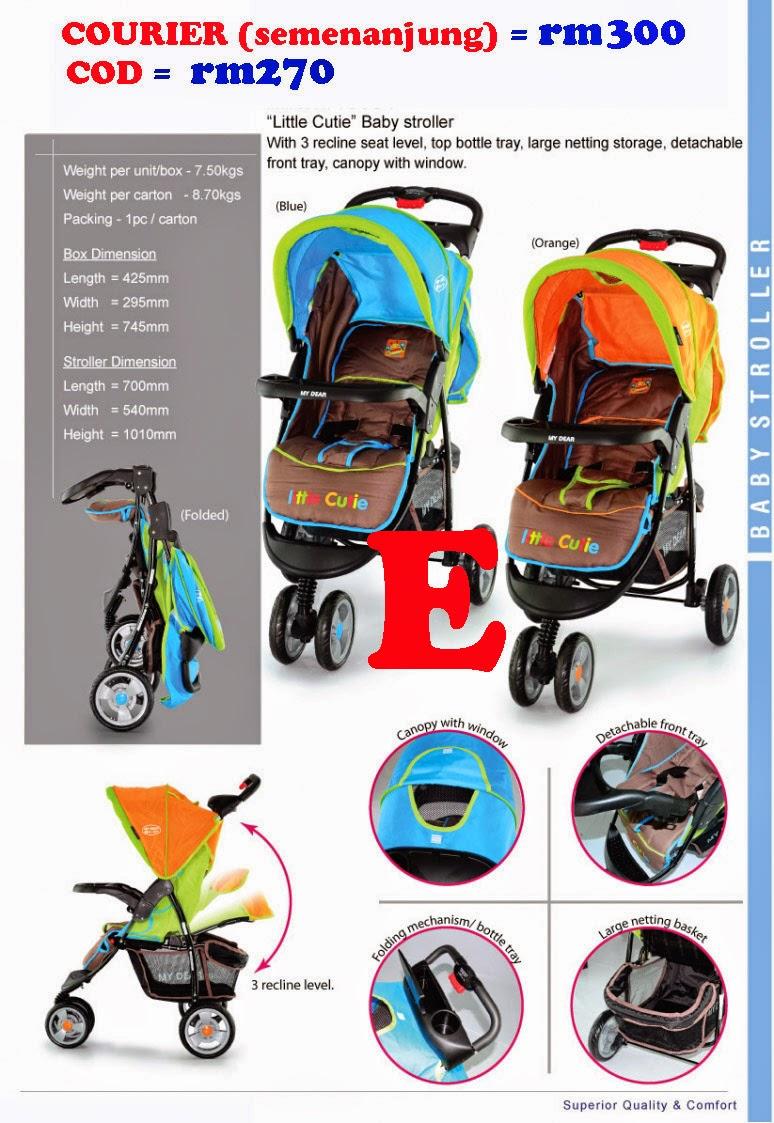 car seat dan stroller murah