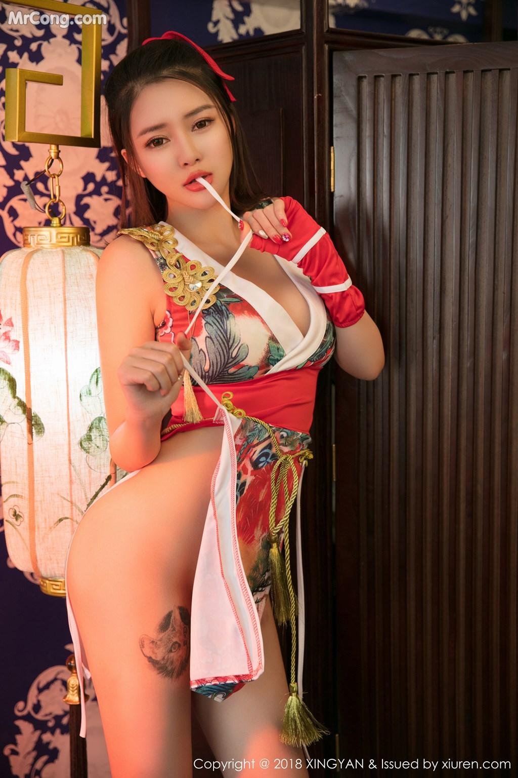 Image XingYan-Vol.100-Various-Models-MrCong.com-058 in post XingYan Vol.100: Various Models (102 ảnh)