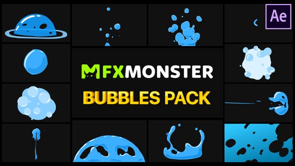 Videohive - Bubbles Pack   After Effects 28739944