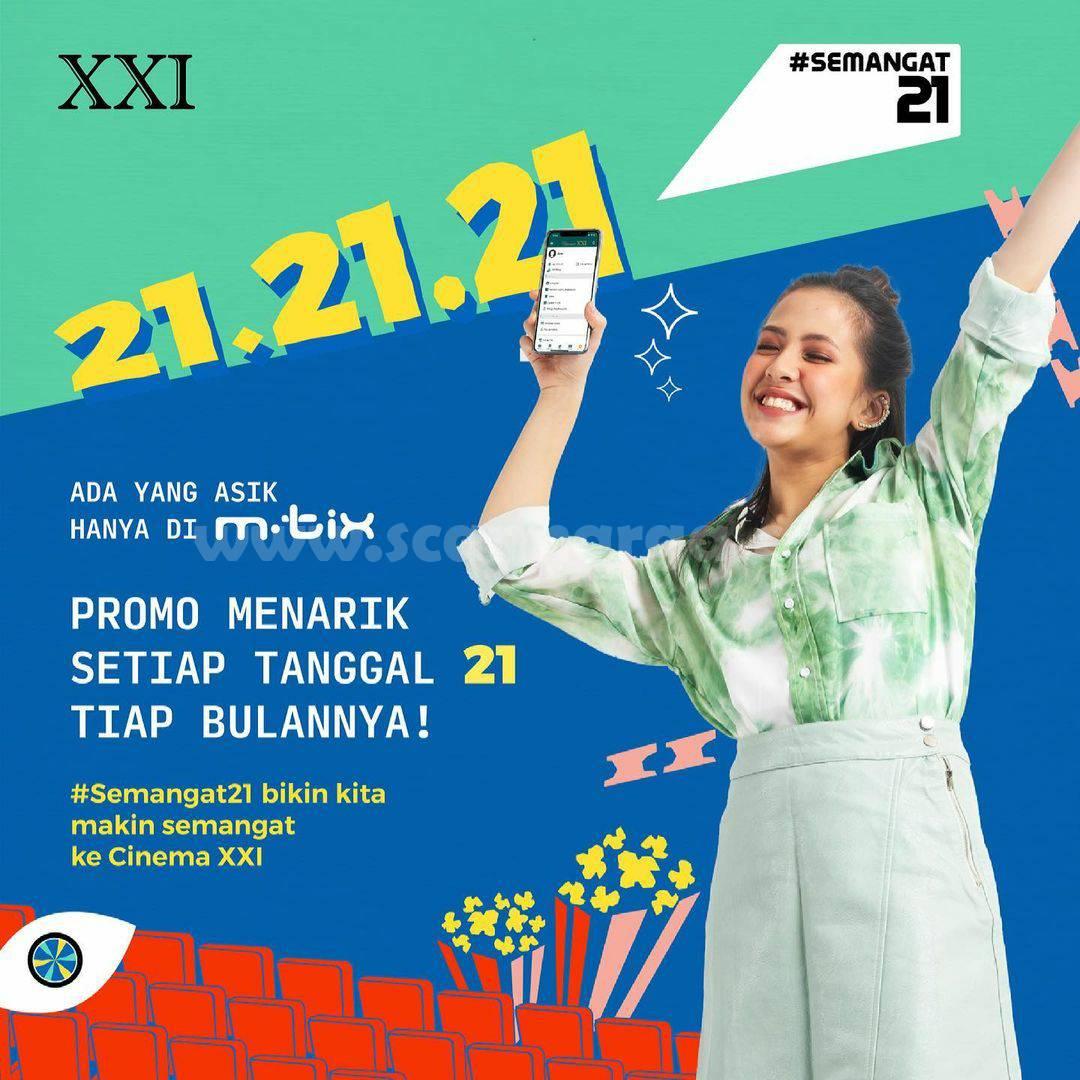 Cinema XXI Promo 21.21.21 Bersama M-Tix