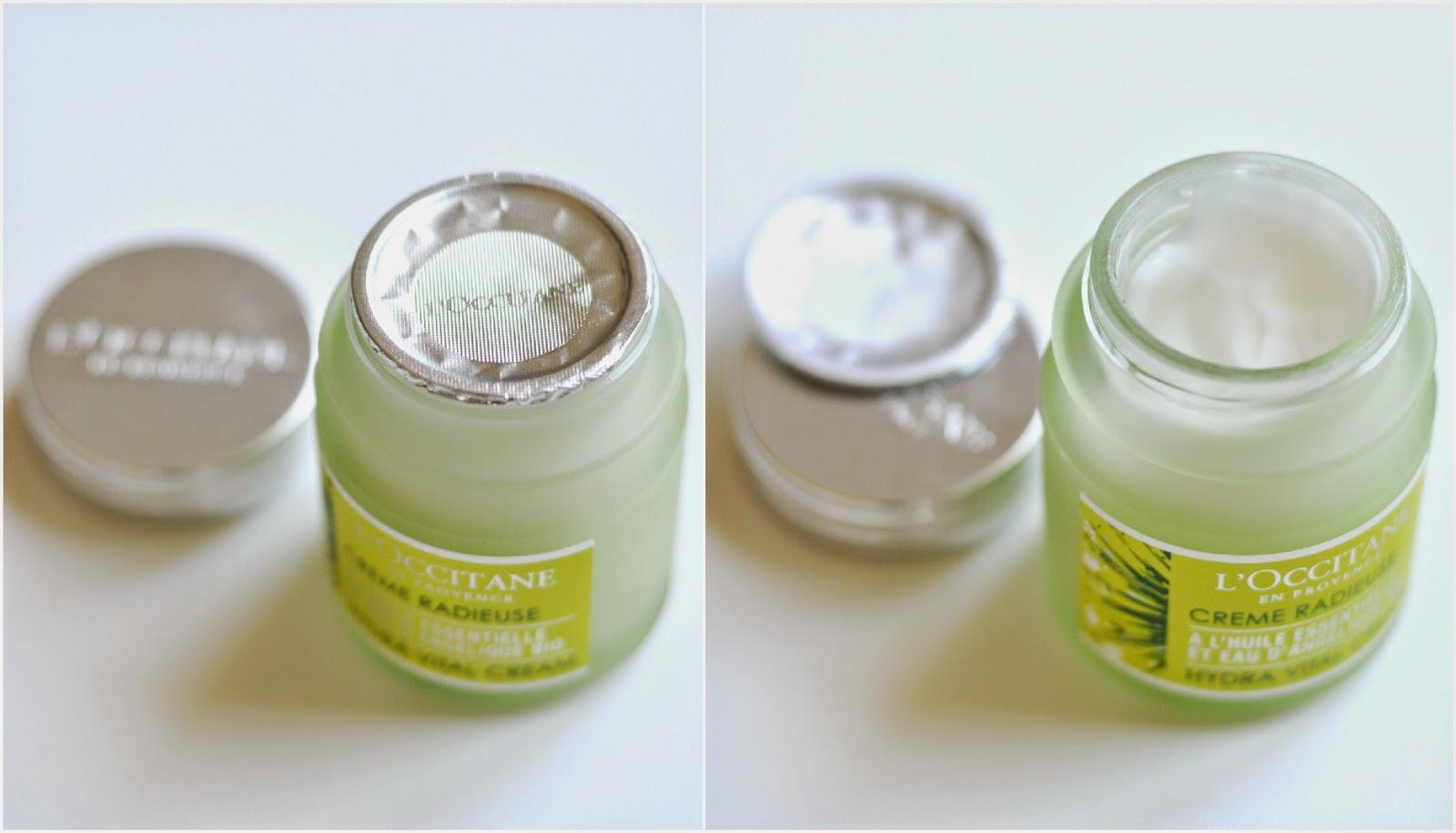 L'Occitane Creme Radieuse Hydra Vital Cream