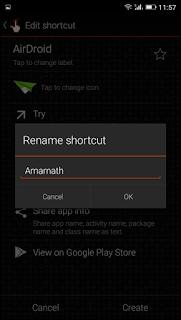 Cara Ubah Nama & Ikon Aplikasi di Android [Tanpa Root] - Quick Shortcut Maker 5