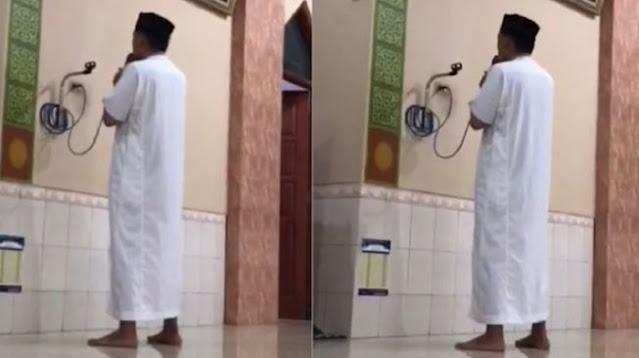 Viral Azan Pemuda Berirama Tak Biasa, Suaranya Bikin Geger Satu Kampung