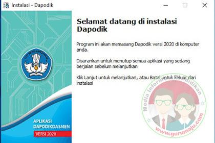 Download Aplikasi Dapodik 2020 RESMI