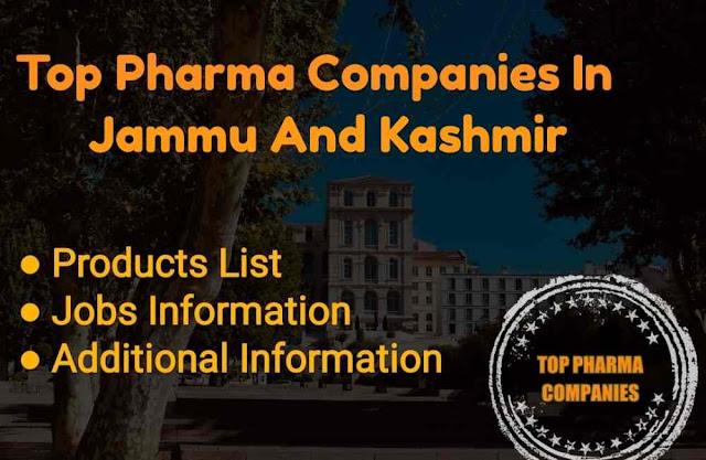 Top 10 Pharma Companies In Jammu and Kashmir
