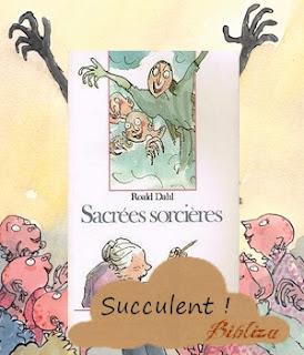sacrées sorcières roald dahl folio junior 1984 avis chronique critique blog