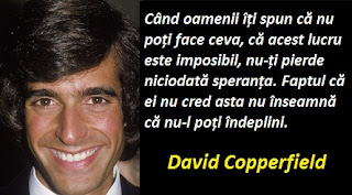 Maxima zilei: 16 septembrie -  David Copperfield