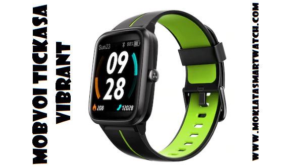 Mobvoi TicKasa Vibrant GPS SmartWatch: Specs + Price + Features
