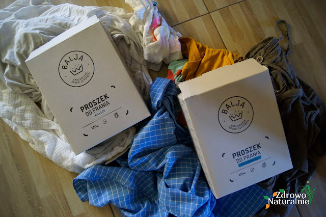Balja - Ekologiczne proszki do prania ubrań białych i kolorowych