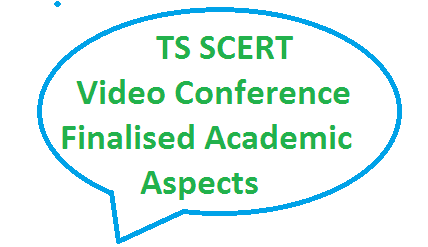 TS Telangana SCERT State Council for Education Research and Training Academic Calendar Activities implementation of 3Rs