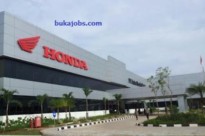 Lowongan Kerja PT Astra Honda Motor (AHM) Indonesia 2019