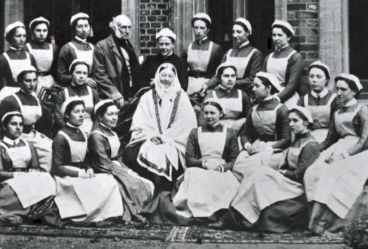 Bersama jururawat St Thomas
