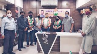 मुंबई कांग्रेस महासचिव बनने पर शीतल म्हात्रे का अभिनंदन  | #NayaSaberaNetwork