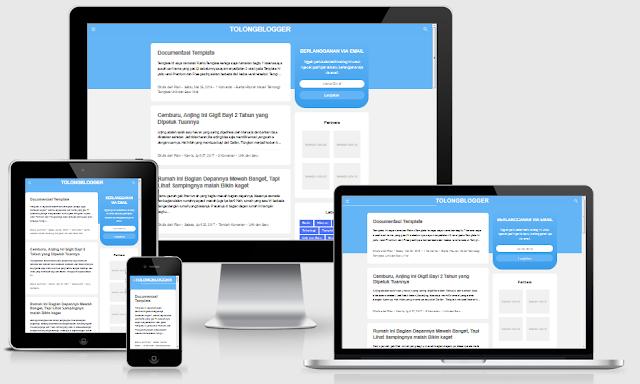 Download Template Raimu Blogger Responsive Gratis
