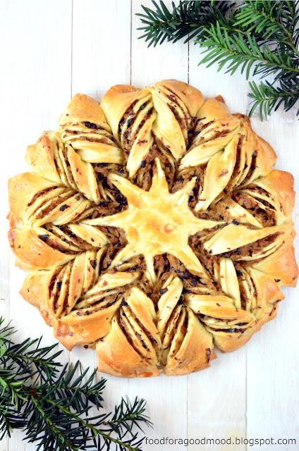 Święta Bożego Narodzenia tuż tuż. To już ostatni moment, by przemyśleć, czym poczęstujemy rodzinę i gości. Na tę okoliczność poleca się prosty, aczkolwiek bardzo efektowny drożdżowy kulebiak z kapustą i grzybami w kształcie gwiazdy. Wbrew pozorom przygotowuje się go dość szybko i łatwo.