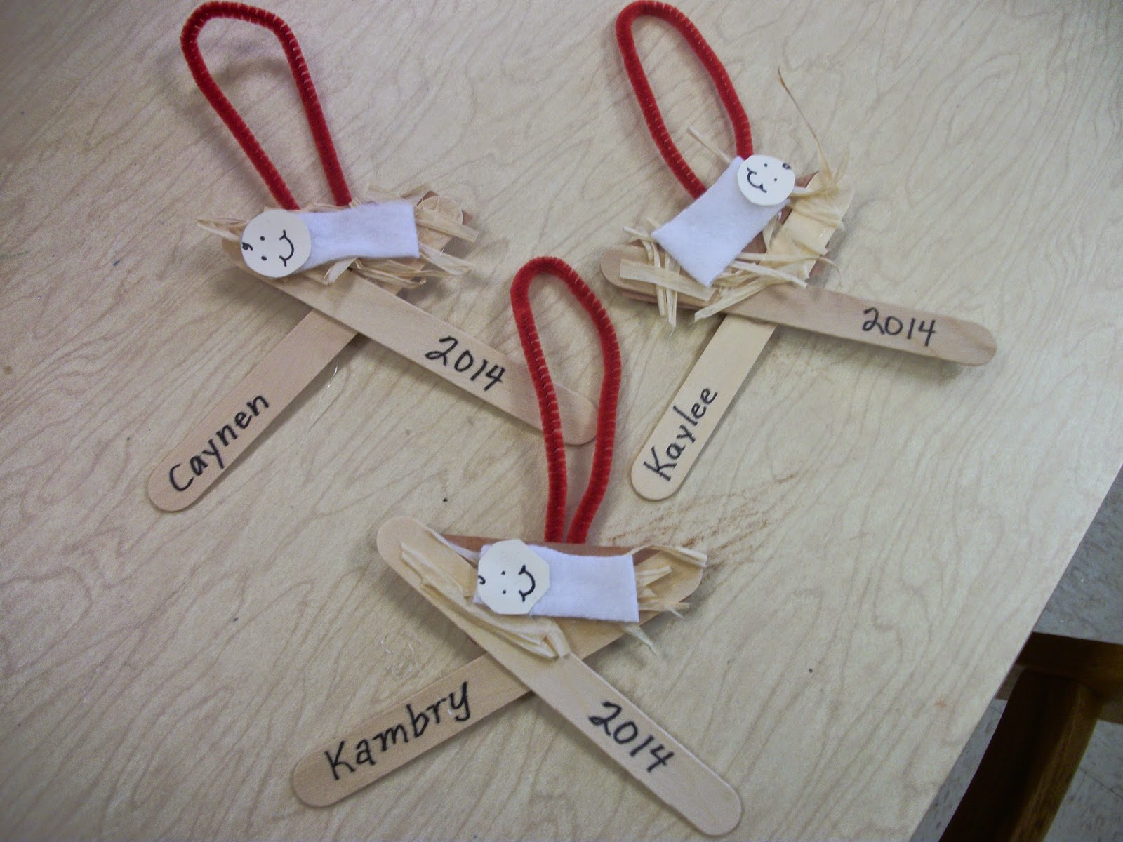 Cross Christmas Ornaments Crafts