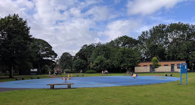 Ridley Park, Blyth - One of the best parks in Northumberland - water play area
