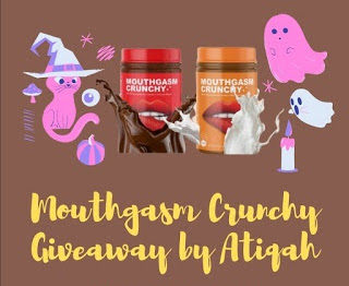 MRS. A JOIN 'MOUTHGASM CRUNCHY GIVEAWAY BY ATIQAH'