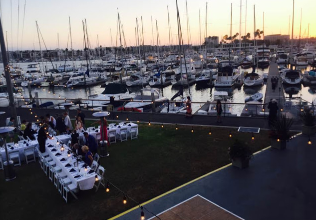 California Yacht Club Wedding Venues