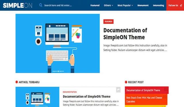 blogger templates, simpleon responsive blogger template, best 10 responsive blogger templates, blogger templates free download, how to download blogger template, best free template for blogger 2020