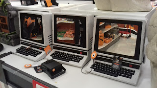 Haunted PCs at Target in New Jersey