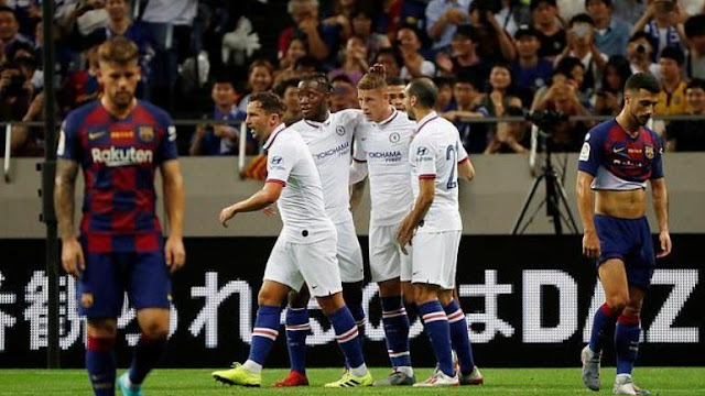 Klub Chelsea Berhasil Mengalahkan Barcelona Di Jepang
