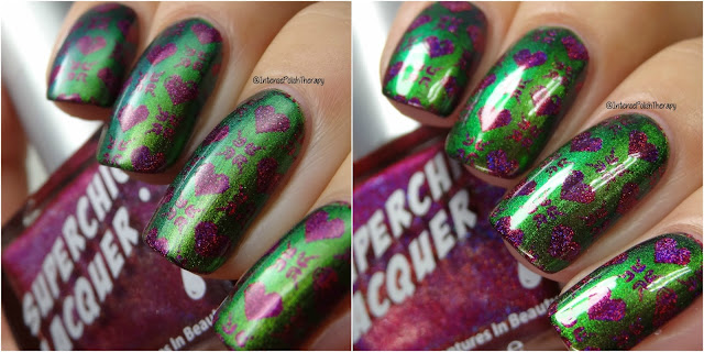 Heather's Hues Lurid, Superchic Lacquer Trap Queen & Lina Nail Art Supplies 01