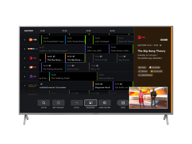 """HbbTV Operator-App"": Bei Panasonic ist HD+ jetzt direkt ..."