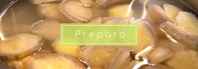A melhor maneira de preparar água de gengibre é utilizar a raíz in natura ralada. Você também pode encontrar disponível em lojas de produtos naturais gengibre em pó