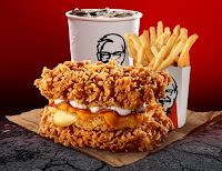 Harga KFC Zinger & Cheezilla Double Down 2021