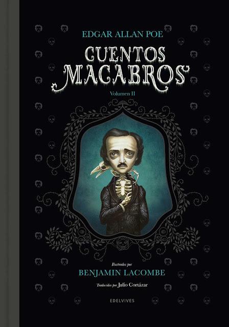 Benjamin Lacombe Portada del Libro Cuentos macabros II