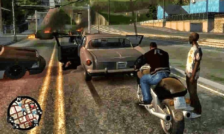 تحميل لعبة جاتا 10 GTA للكمبيوتر مجانا برابط واحد مباشر