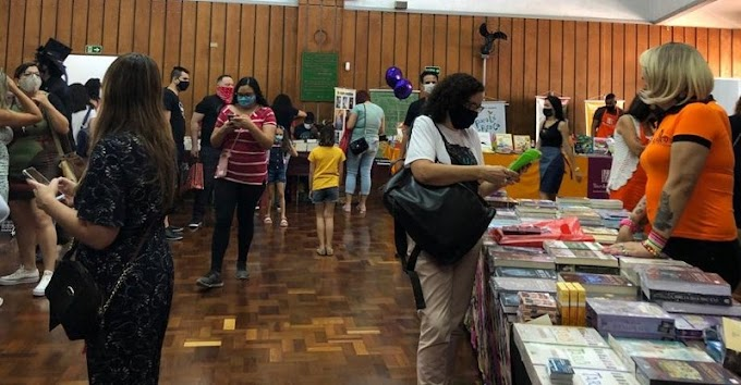 1ª FLISP - Feira literária de São Paulo comemora sucesso