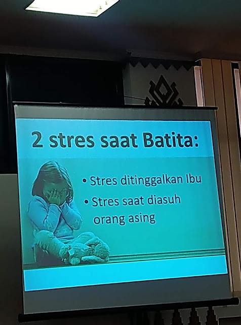 penyebab bayi stres