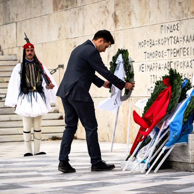 Παύλος Χρηστίδης: Ο ελληνικός λαός ενωμένος και αποφασισμένος δεν μπορεί να είναι ποτέ νικημένος