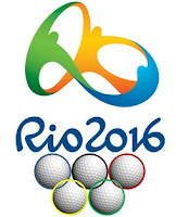 2016 Rio Olympic Games logo golf