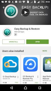 Easy Backup & Restore