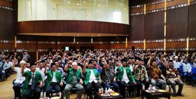 Ratusan Mahasiswa Al-Azhar Mesir Berbaiat Jadi Anggota GP Ansor