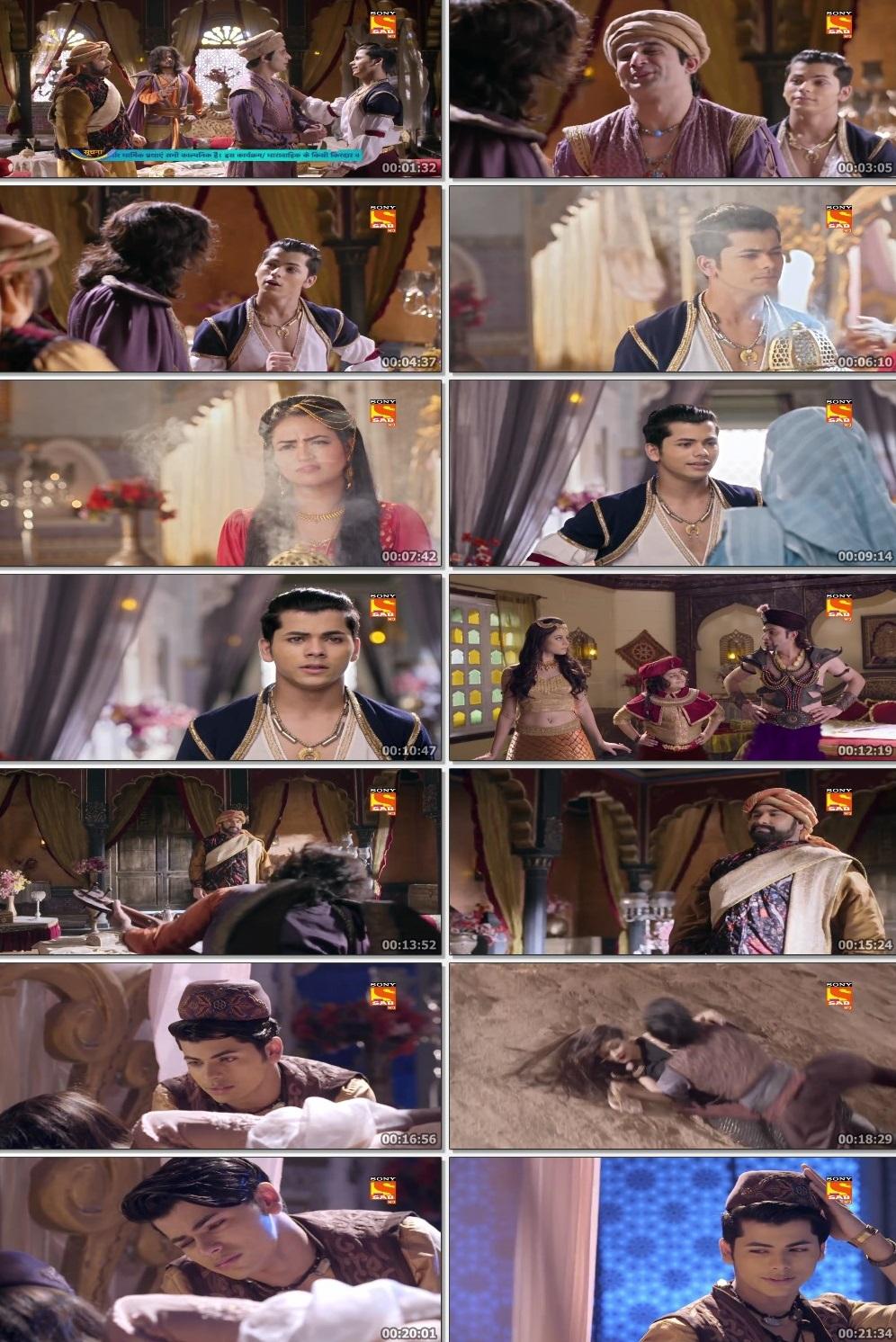 Screenshots Of Hindi Show Aladdin – Naam Toh Suna Hoga 2019 Episode 270 300MB 720P HD