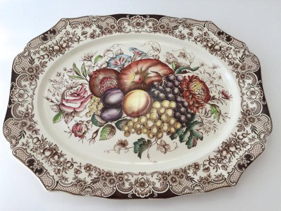 Turkey Platters Preppy Empty Nester F