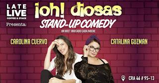 Stand up comedy con Carolina Cuervo y Catalina Guzmán 2019